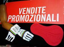 Fondello Gel Ciclismo Mtb + guanti windstopper e palmo in super roubaix