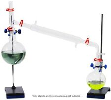 Vacuum Distillation Glassware Kit - Glassware only. Fast shipping!