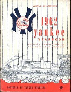 1962 New York Yankees Yearbook EX+