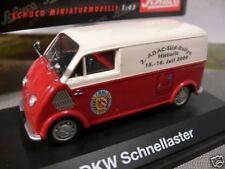 1/43 Schuco DKW schnellaster recuadro ADAC sur-Rall 02398