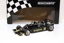1:18 Minichamps Lotus Ford 79 F1 Canada #55 - 1978 NEW bei PREMIUM-MODELCARS