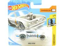 Hotwheels King Kuda Checkmate White 362/265 Short Card 1 64 Scale Sealed New