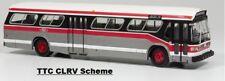 TTC (Toronto) New Look Fishbowl Bus  1/87  Rapido 751063  #8330 CLRV Deluxe