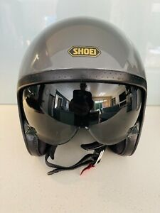 SHOEI J.O Open Face Helmet Sz Small Grey colour EC Bargain Price not ARAI AGV