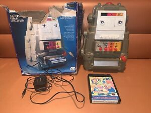 Vintage 1978 Mego 2-XL Talking Robot A/C Cord 1 Game Tape Tested & Works