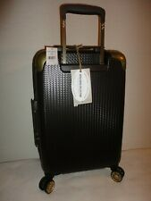 TOMMY BAHAMA BORA BORA 20 CARRY ON BROWN HARD SIDE TROLLEY LUGGAGE SUITCASE NWT