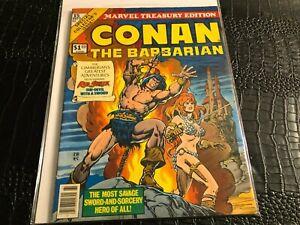 1977 Marvel Treasury Edition 15 CONAN the BARBARIAN - Red Sonja oversized comic