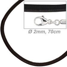 Modeschmuck-Halsketten & -Anhänger mit Cabochon-Schliffform ohne Stein
