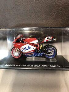 Ducati 999 Superbike 2003 Neil Hodgson Team Fila Corse 1:24 B2