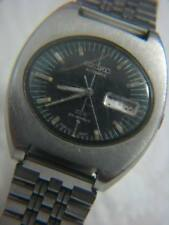SEIKO DX AUTOMATIC 25 JEWELS ~ TV DIAL ~ CALENDAR S/S MEN'S WATCH