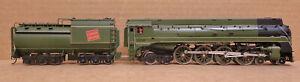 G Series 6400 Class CNR U-4a 4-8-4 Canadian National Brass Locomotive FP RARE HO