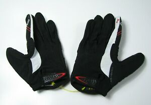 SPECIALIZED Body Geometry Microwipe Womens Medium Full Finger Gel Cycling Gloves