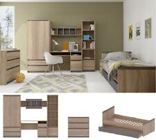 Jugendzimmer Kinderzimmer komplett MAURICE Set C 7tg Kommode Regale Bett +Schubl
