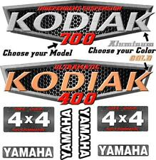 Yamaha Kodiak 400 450 700 OEM ATV Tank Decal Graphic Sticker Kit upgrade 4x4