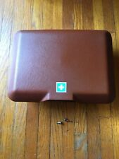 Mercedes Benz W123 First Aid Kit Box Tray SIENNA RED 300D 240D 300CD 280CE 280E