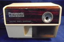 Vintage Panasonic Desktop Electric Pencil Sharpener Model No. KP-110 Made Japan