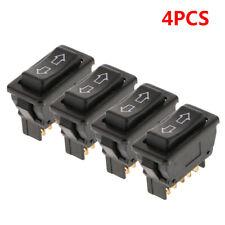 4Pcs Car Power Door Lock/Power Window Rocker Switches 5 Pin 12V Cars  Universal
