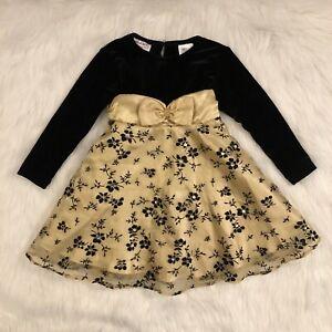 Girls Size 2T Holiday Dress