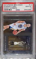 Pop 1, ONLY graded 1!💎2012 Stephen Curry PANINI BRILLIANCE CHROME 14 PSA 10 BGS