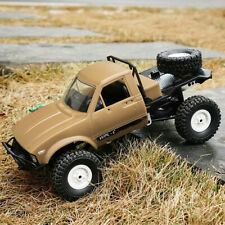WPL C14 1/16 2.4GHz 4WD RC Crawler Off-road Semi-truck Car with Headlight RTR US