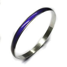 Thermochromic Mood Emotion Colour Change Cuff Bangle Bracelet Fashion Jewelry