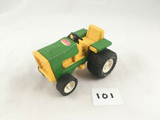 VINTAGE TONKA TOYS #995 FARM TRACTOR JOHN DEER GREEN PRESSED STEEL 1977