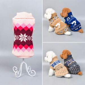 Small Pet Dog Warm Fleece Vest Coat Puppy Shirt Sweater Winter Apparel Clothes