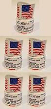 New listing 500 Forever flag Stamps 5 Coils rolls of 100 2018 flags stamp read description