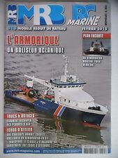 MRB - Modèle Réduit de Bateau #615 (REVUE) L'Armorique, un baliseur océanique