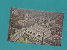 Civic Center Mellon Institute Auto Churches Pittsburgh Pa Aerial View CHROME