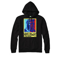 Hellboy Hoodie, Superhero Abe Sapien, Liz Sherman Scince Fiction Gift Hoodie Top