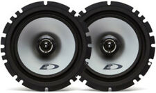 """NEW (2) 6.5"""" Shallow Mount 2-way Car Audio Speakers.4 ohm Stereo Pair.OEM.auto"""