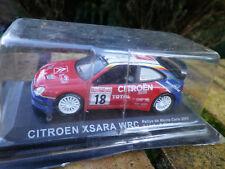IXO / ALTAYA CITROËN XSARA WRC Rallye de MONTE CARLO 2003 comme neuf en boite