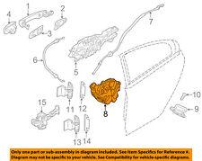 VOLVO OEM 11-15 S60 Rear Door-Lock Actuator Motor 31349862