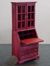 Dollhouse Miniature Desk Secretary Berry 1:12 one inch scale F51 Dollys Gallery