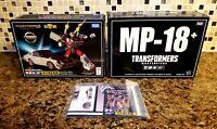 Transformers Takara Masterpiece MP-18+ Bluestreak **BOX AND INSERT ONLY**