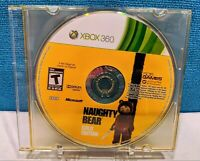 Naughty Bear - Gold Edition (Microsoft Xbox 360, 2011) Disc Only - Tested