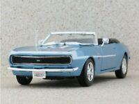 CHEVROLET Camaro SS 396 - 1968 - bluemetallic - Maisto 1:24
