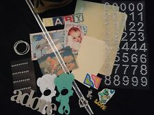 Collage Pack - Cardmaking & Scrapbooking - Baby Themed