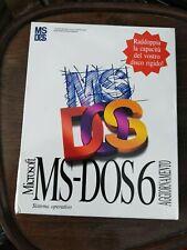 Microsoft Ms-dos 6 aggiornamento nuovo sigillato