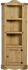 MEXICAN PINE CORONA CORNER 3 SHELF DISPLAY UNIT NEW *FREE NEXT DAY DELIVERY