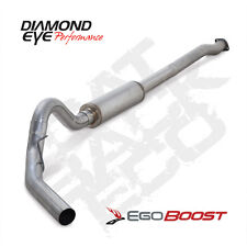 "Diamond Eye 4"" 409SS Cat Back Exhaust 2011-2014 Ford F150 3.5L V6 EcoBoost"