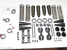 TKR8000 TEKNO RC EB48.4 1:8 BUGGY FRONT AND REAR SHOCK SET COMPLETE