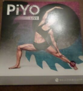 PiYO Live Round 37 DVD Workout Fitness Exercise Pilates Yoga CD Core Strength