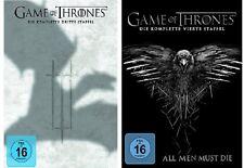 Game of Thrones Staffel 3+4 DVD Set NEU OVP