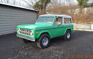 1972 Ford Bronco SPORT 302 3SPD PS 4WD
