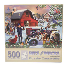 Bits and Pieces Bird Nibbles 500 Piece Jigsaw Puzzle