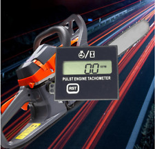 Gauge Chainsaw Motorcycle Car Tachometer Engine Hour Meter Digital Square NEW