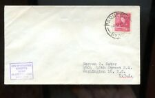 Canada Posted Ship Cover (City of Singapore) 1952? Paquebot, Sydney Cancel