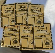 Vintage Whalom Amusement Park Fitchburg Mass LOT Team Game Room Tags Passes ID